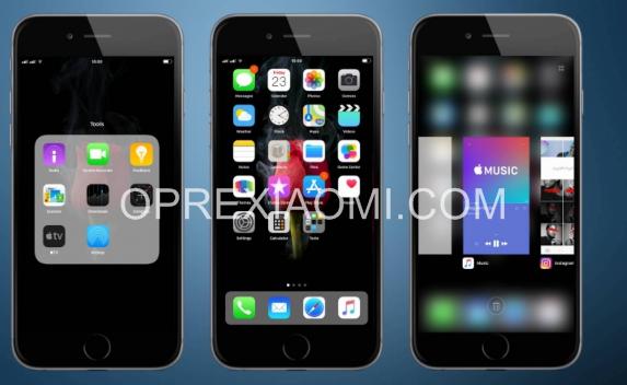 [New Update] Rose iOS 11 Mtz V11.3.9 Terbaru Paling Keren