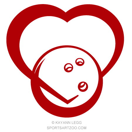 Download Bowling Love Design | Bowling, Love design, Free clip art