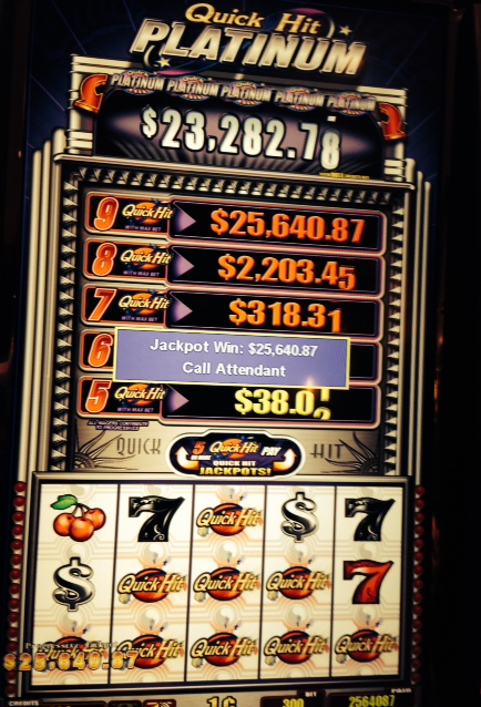 factory price reasonably priced shades of Garcia from New York won $25,640 on our Bally Playboy ...