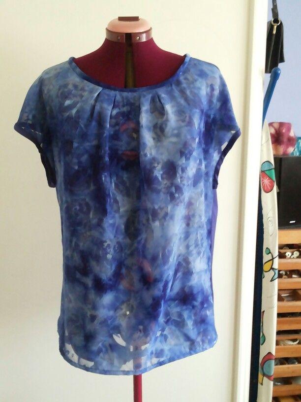 Beautiful tie-dye top from Ausbrenner.
