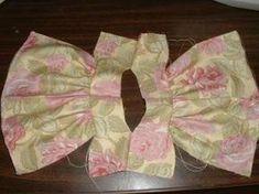 How to Make a Doll Dress #dolldresspatterns