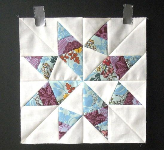 Sunshine Texas Star Block Pattern Star Quilt Blocks Pattern