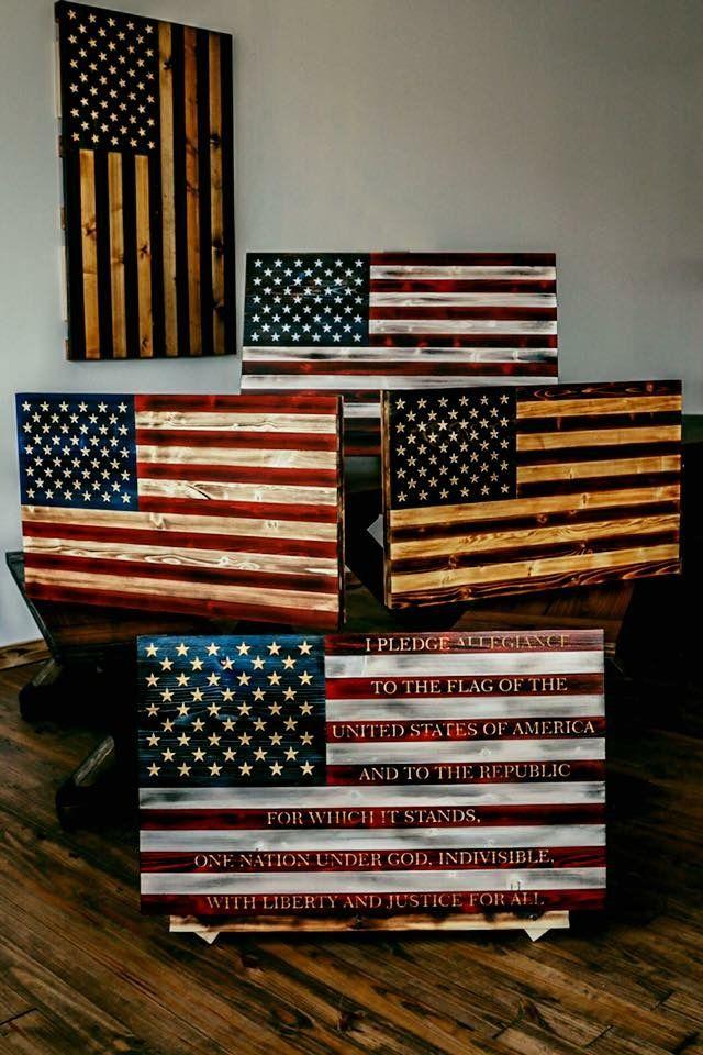 4420366d3f79 Awesome wooden USA flag · BraveHolidaysAmericanCraftsArt ...