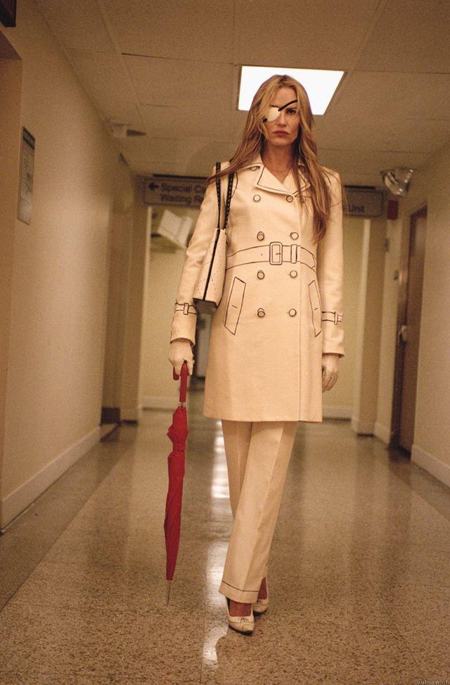 Sick Elle Driver! That suit!!!! Kill Bill/Quentin Tarantino
