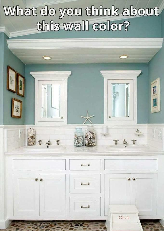 LOVE, LOVE THIS COLOR........Moody Blue by Sherwin ...