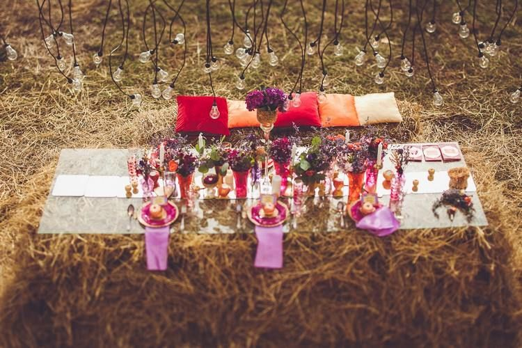 Bohemian wedding decors in 30 photos that exude the joy of living