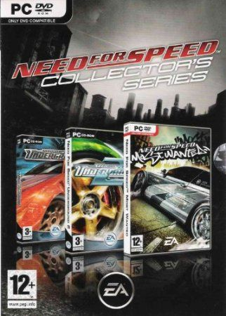 Need For Speed Collectors Series Includes Underground 1 2 And