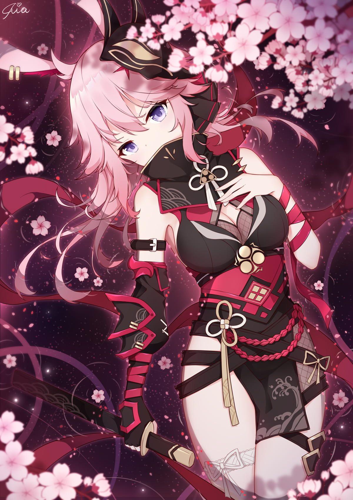 HD wallpaper: anime, anime girls, digital art, artwork, 2D, portrait display