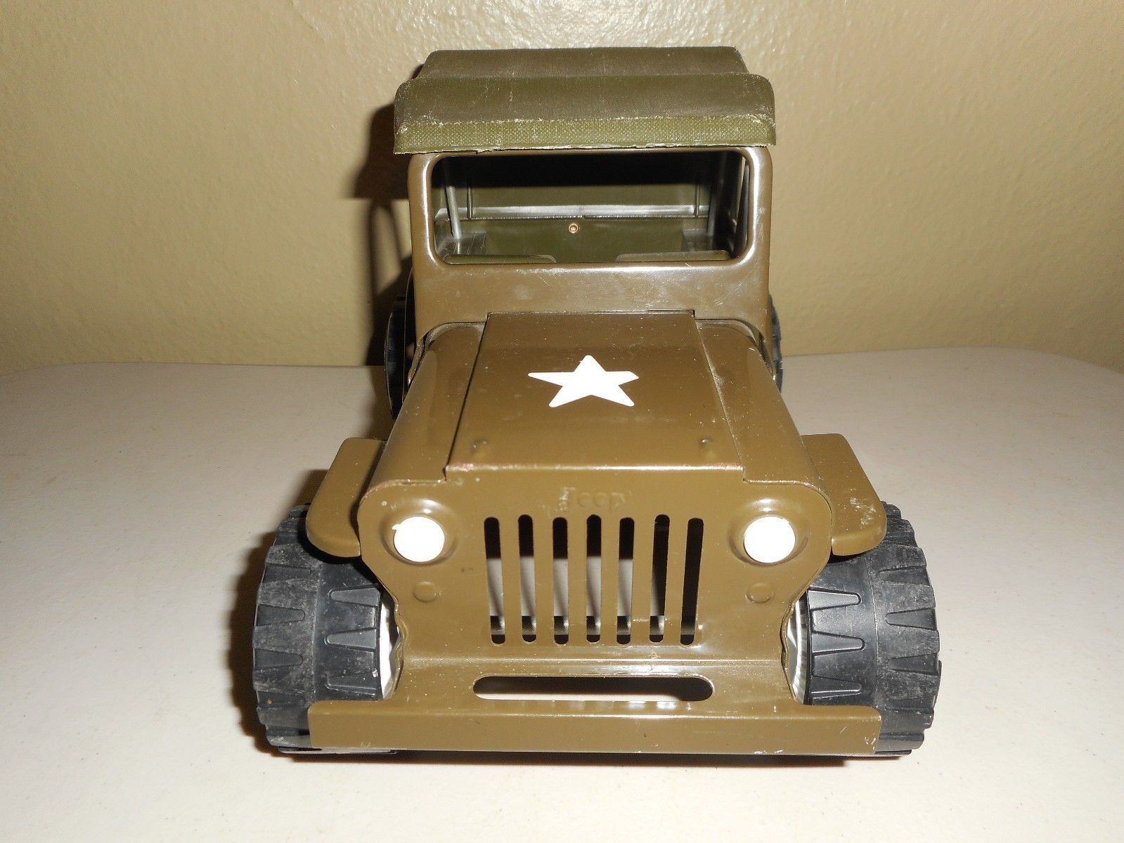 Vintage 1960's TONKA MILITARY ARMY JEEP No. 2205 Very Nice | eBay