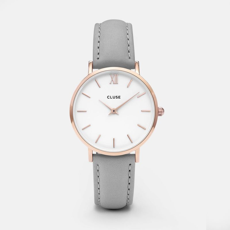 Minuit Rose Gold White/Grey - Clusestore