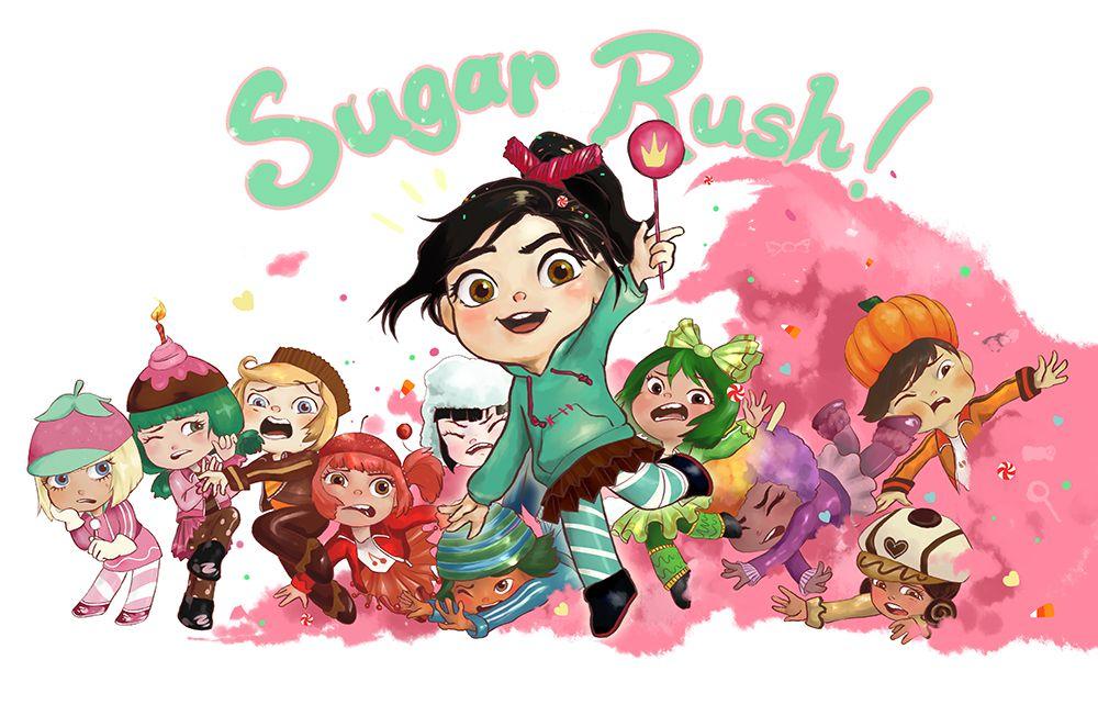 Sugar Rush! by lehanilee.deviantart.com on @deviantART