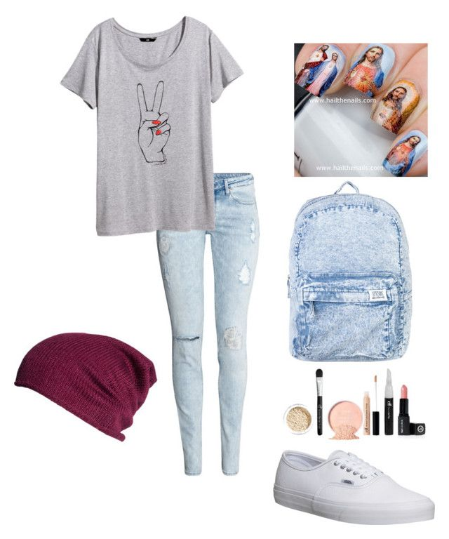 """""""Untitled 3"""" by iluvgodjesusandfashion ❤ liked on Polyvore featuring H&M, Vans and Afends"""