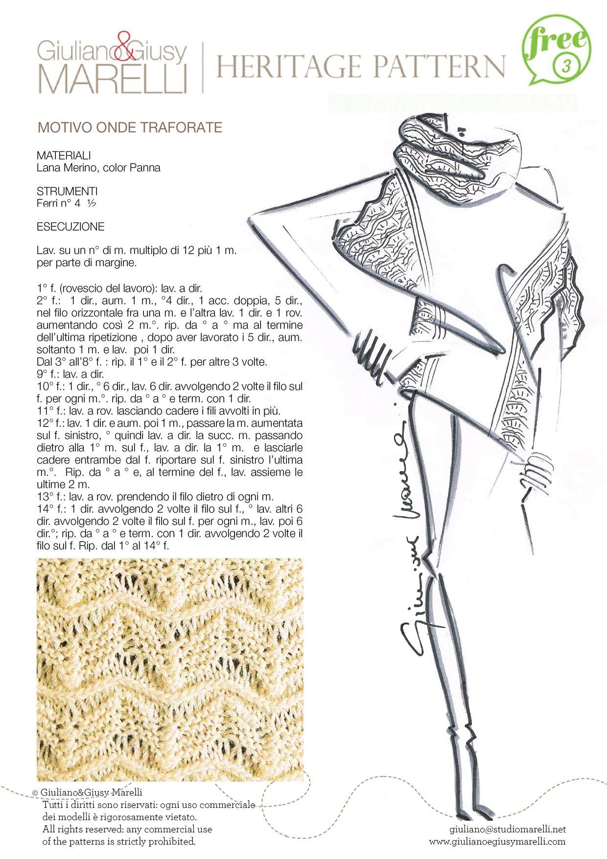 PUNTO ONDE TRAFORATE.jpg | Giuliano & Giusy Marelli | Pinterest ...
