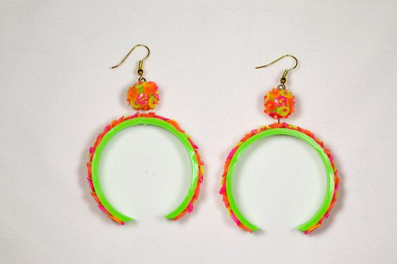 Hey, I found this really awesome Etsy listing at http://www.etsy.com/listing/109609140/neon-earrings-dangle-earrings-handmade