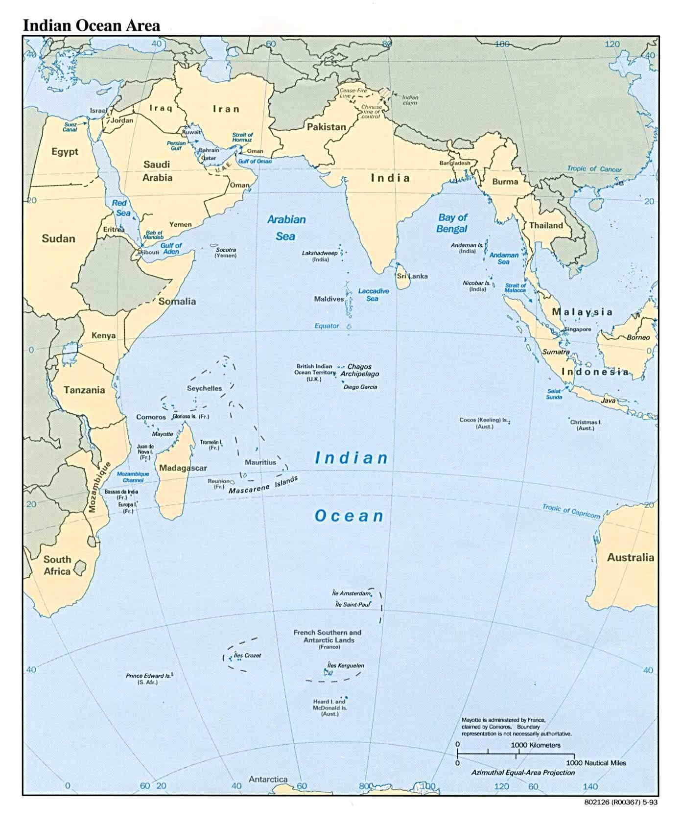 213 oceans Madagascar is closest to the Indian Ocean The Indian