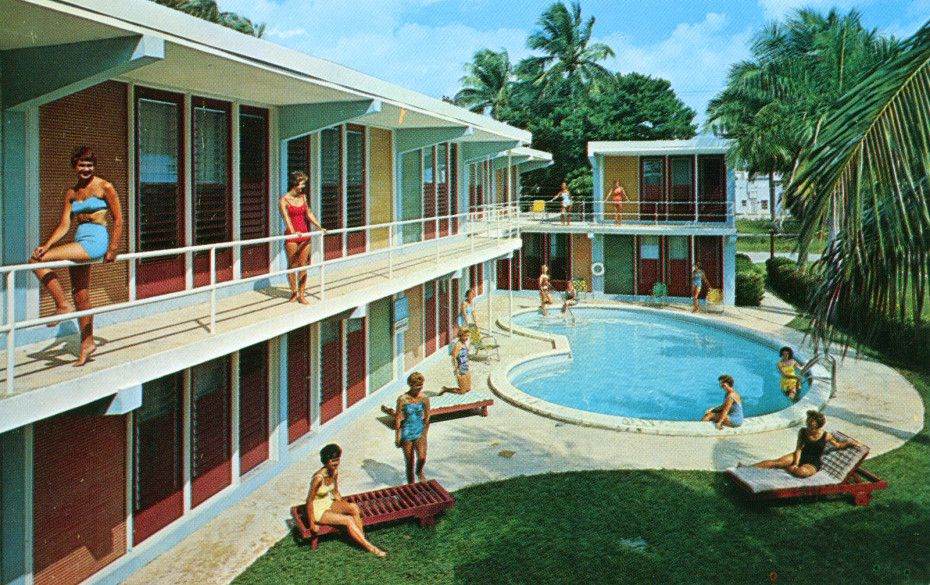A compendium of vintage pool parties beaux arts for Pool design fort lauderdale