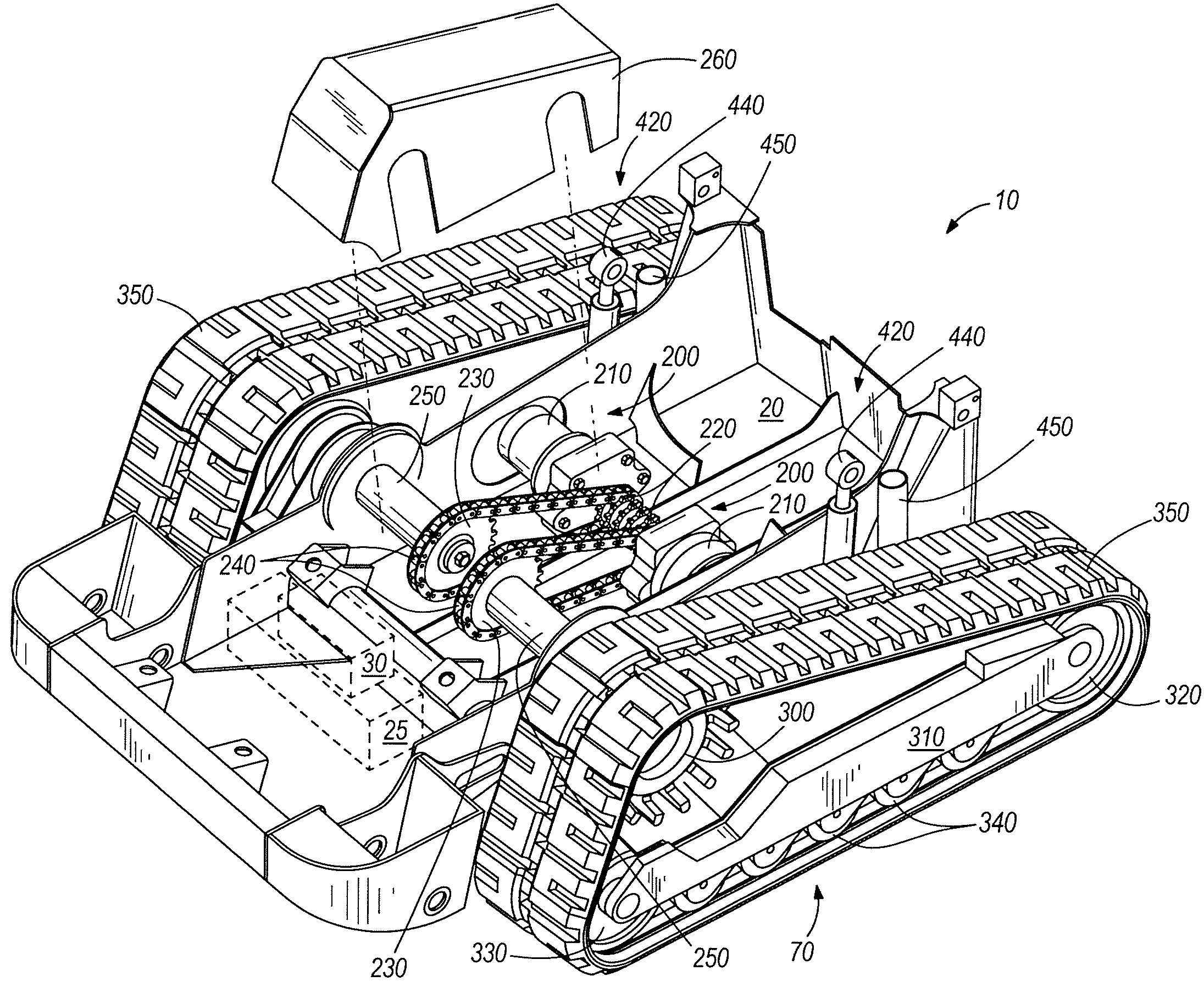 Image Result For Tracked Vehicle Design Robotank Inspiration John Deere Alternator Wiring Diagram 15 Mini Exc