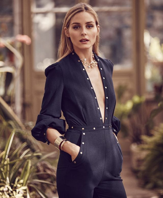 #OliviaPalermo's BaubleBar collab is
