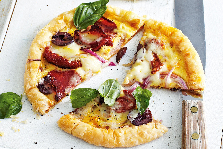 Free Form Pizza Tarts - Recipe - Pizza Tarts, Pizza Tart