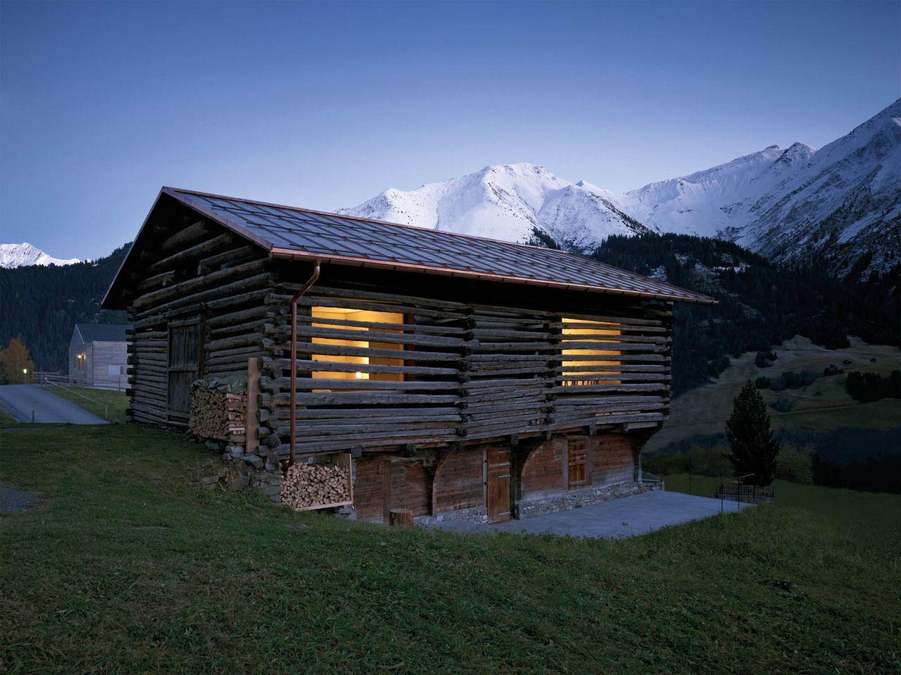 Порно домик в альпах