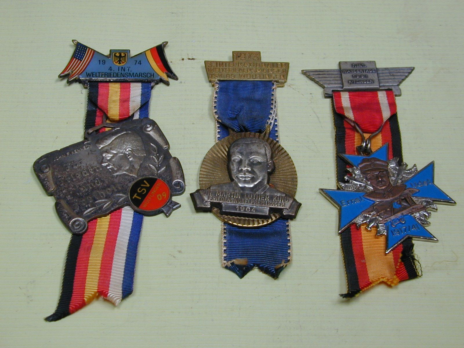 Volks Vander-Tag (People's Walk Day) Medals - I have a whole collection of these darn things...