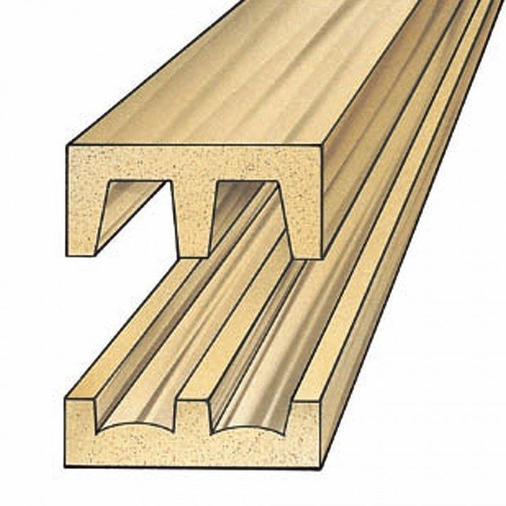 Hardwood Track And Upper Guide