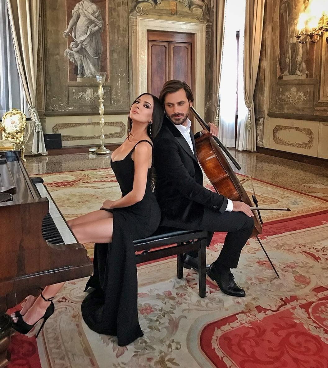 """Stjepan Hauser In """"Love Story"""" with Lola  Beautiful song!   2Cellos"""