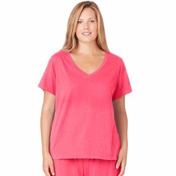 Jockey Pajamas: Modern Cotton Pajama Tee - Women's Plus Size
