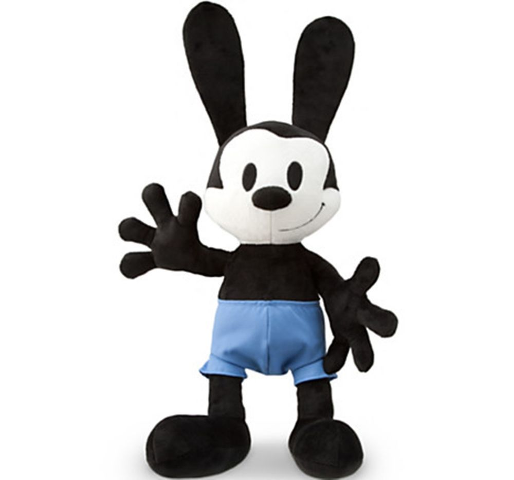 Oswald the Lucky Rabbit Authentic Disney Store Plush Epic Mickey ...