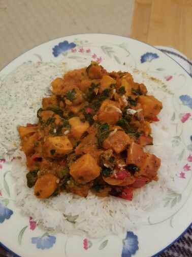 Sweet Potato And Spinach Curry Spinach Curry Ethnic