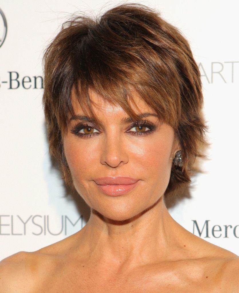 Lisa Hairstyle: Lisa Rinna Layered Razor Cut