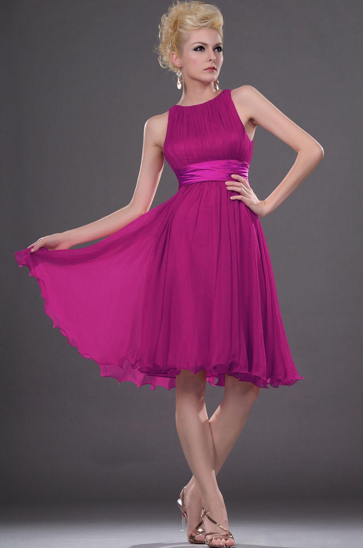 New Sleeveless Short Dress Cocktail Dress (04111712) | robe | Pinterest