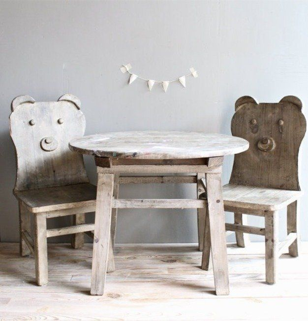 Tremendous Childrens Room Bear Chair By At Lovintagefinds Idei In Pabps2019 Chair Design Images Pabps2019Com