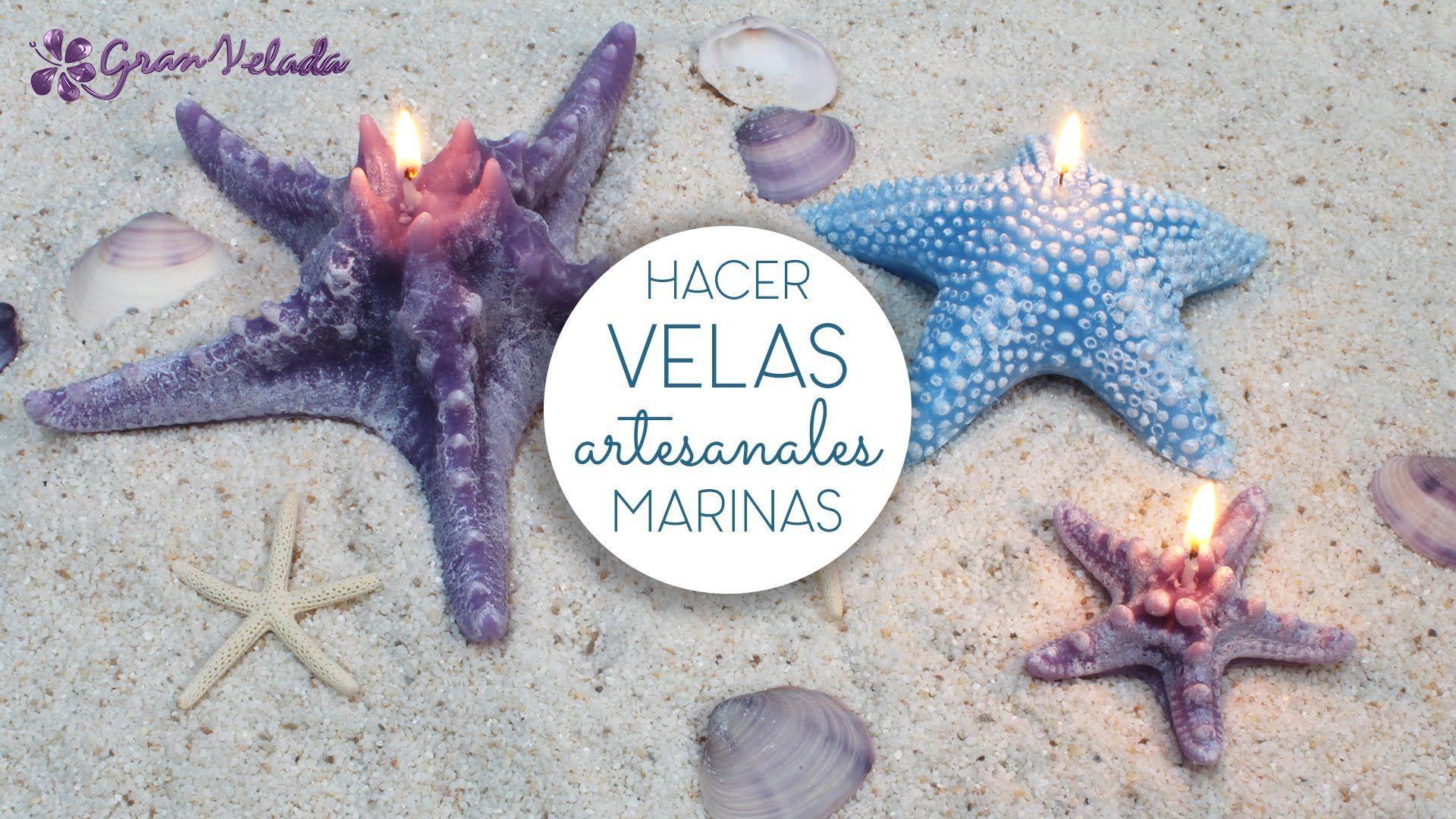 Hacer velas artesanales Marinas