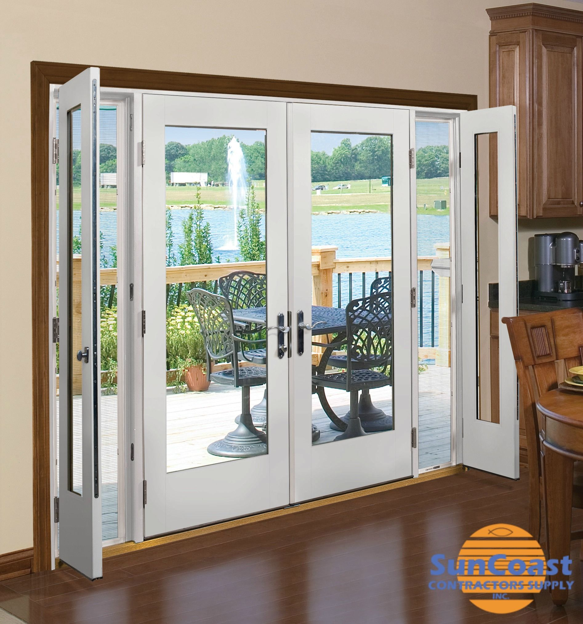 We Offer A Wide Range Of Entry Doors Including Therma Tru Smooth Star With Flush Glazed French Doors Patio French Doors Exterior French Doors With Sidelights