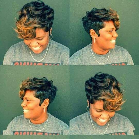 Short Hairstyle Black Women Short Hair Styles Sassy Hair
