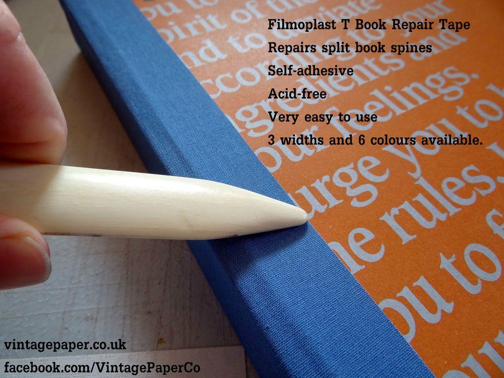 Details about Filmoplast T Book, Book Spine & Box Repair