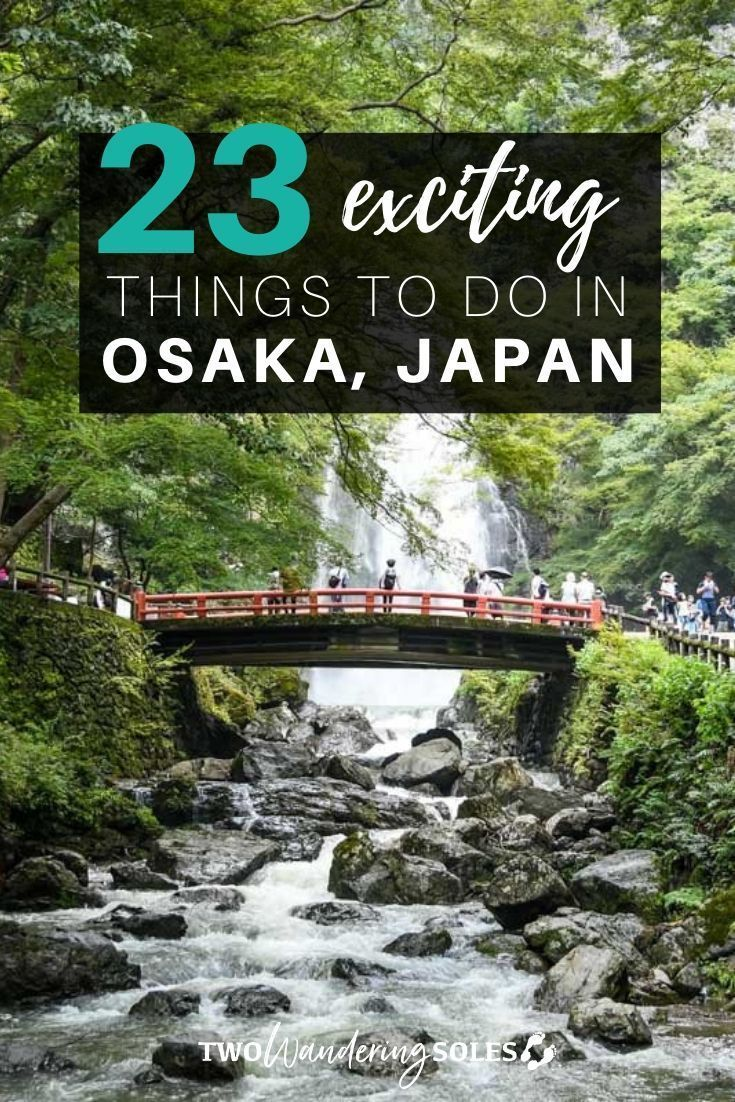 23 Exciting Things to Do in Osaka Japan | Two Wandering Soles  Known for vibrant nightlife, approachable locals, and a fantastic food scene, Osaka is a popular spot on most Japan itineraries. In this travel guide, we've rounded up the best things to do in Osaka, plus tons of other useful tips for traveling there.   #Osaka #Japan #Japantravel #travelguide