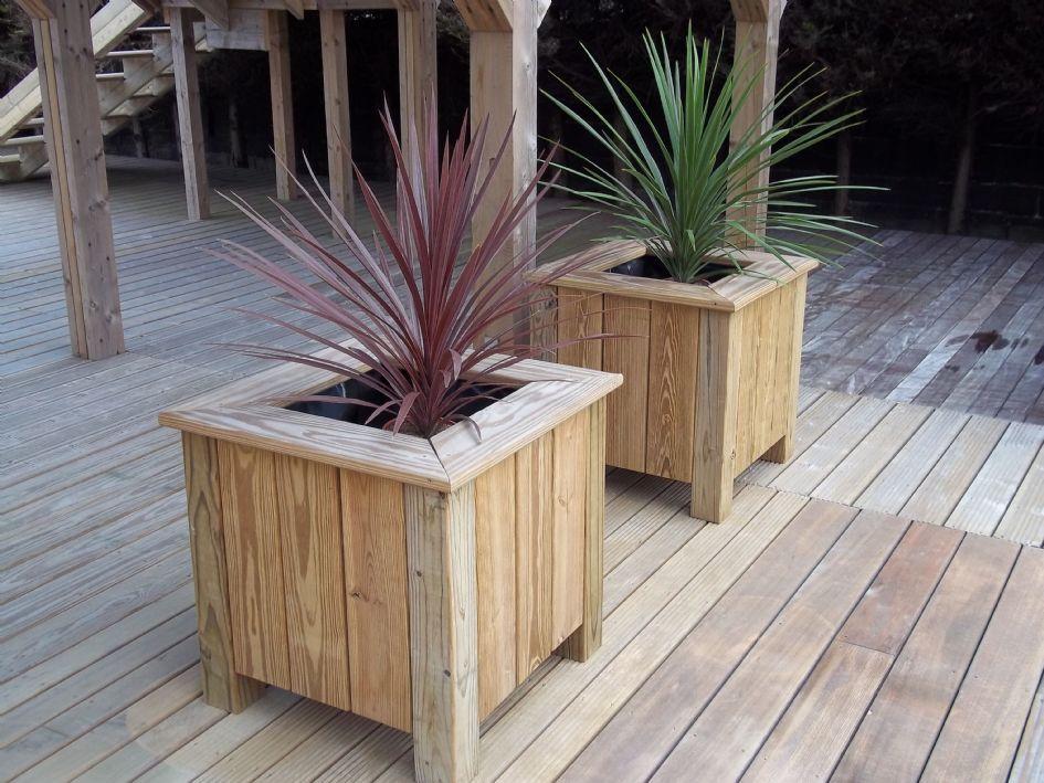 Wooden Planters | Timber U0026 Wooden Garden Planters