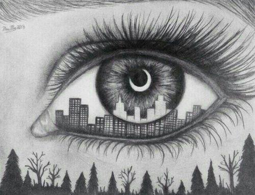 誰ともかぶりたくなり方必見 個性的な 目ネイル で皆の視線くぎづけ 描画のためのアイデア 目 描き方 すごい絵