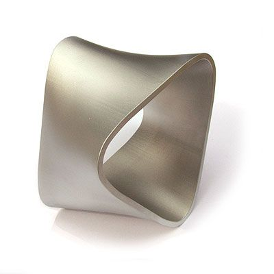 Yael Herman Bracelet Wave 2004 Aluminum 13 X Cm
