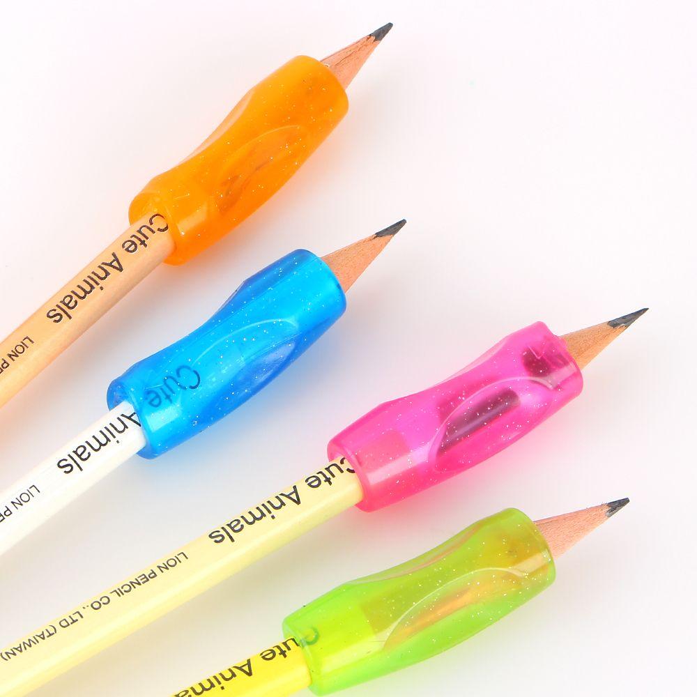 4 개 학습 파트너 어린이 학생 문구 연필 들고 연습 해 장치 보정 펜 홀더 자세를 그립
