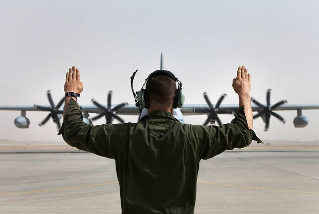 C-130 Rollin\' Down the Strip