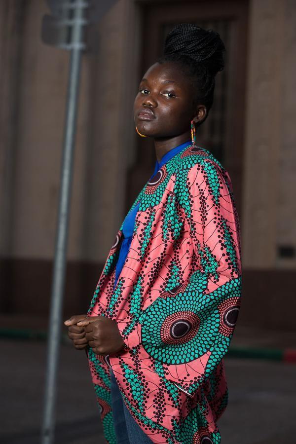 Makeda african print duster