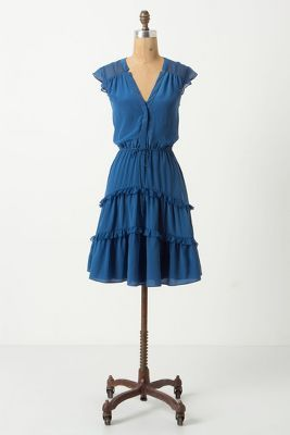 Guaranteed to bring out #blue eyes. #anthropologie #dress