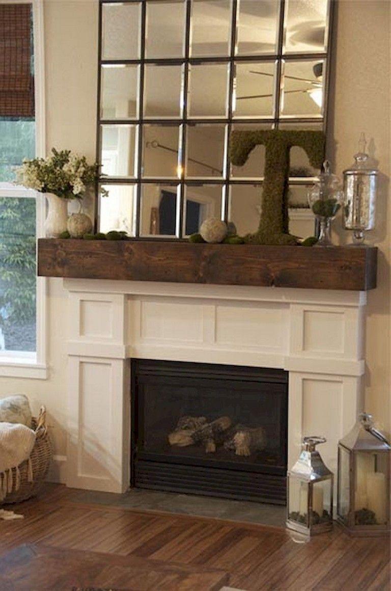 Fireplace Mantel Ideas Home Decor Tips Diy Fireplace Rustic Mantel