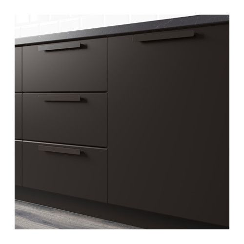 Are Ikea Kitchen Cabinets Good: IKEA KUNGSBACKA Anthracite Drawer Front