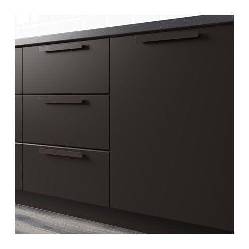 KUNGSBACKA Drawer front, anthracite Ikea kitchen design, Kitchen