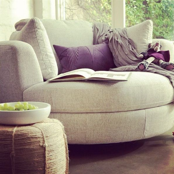 oversized comfy living room chair Snuggle chair I am sooo getting me one of these | Home