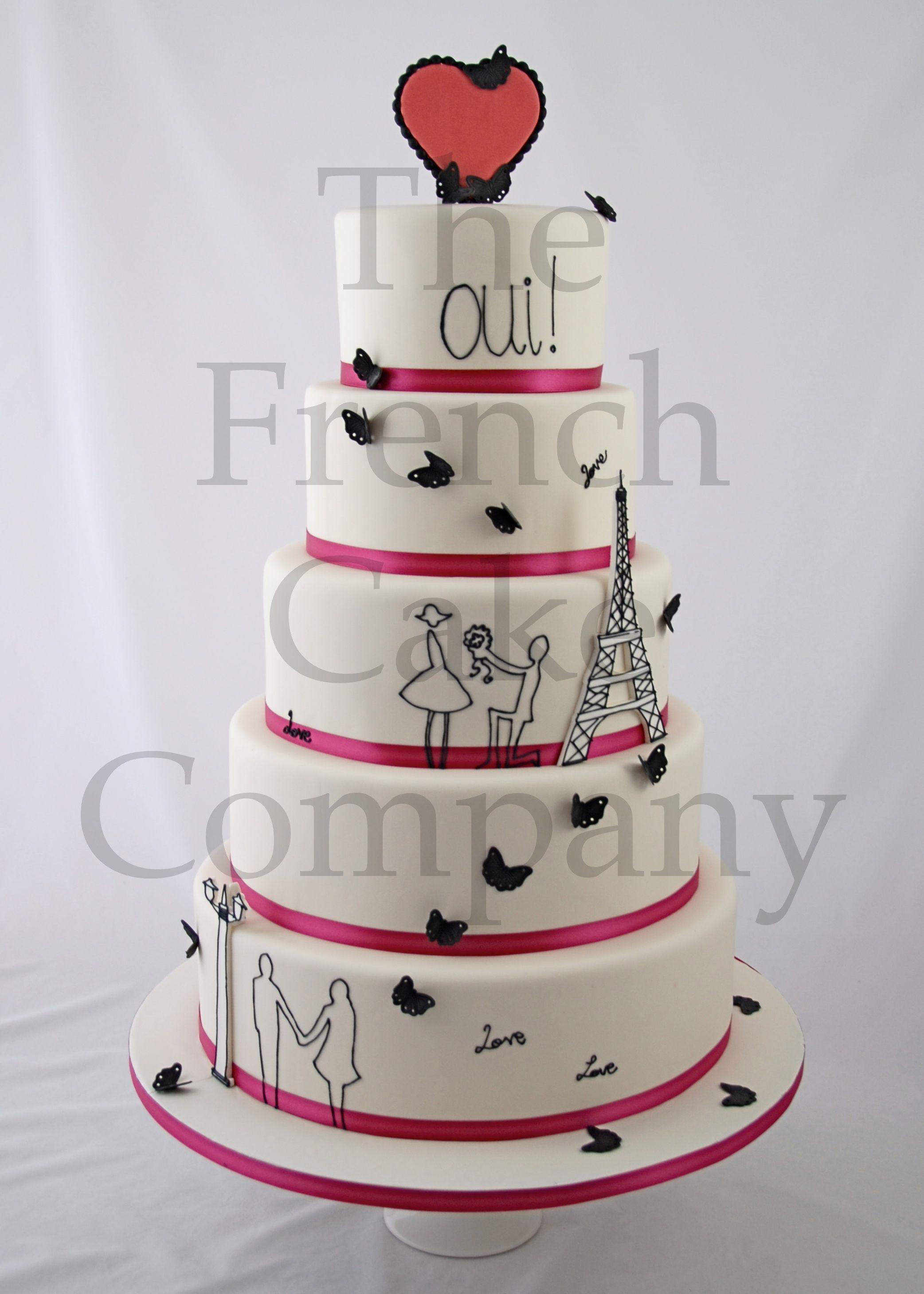 wedding cake eiffel tower piece montee mariage tour. Black Bedroom Furniture Sets. Home Design Ideas